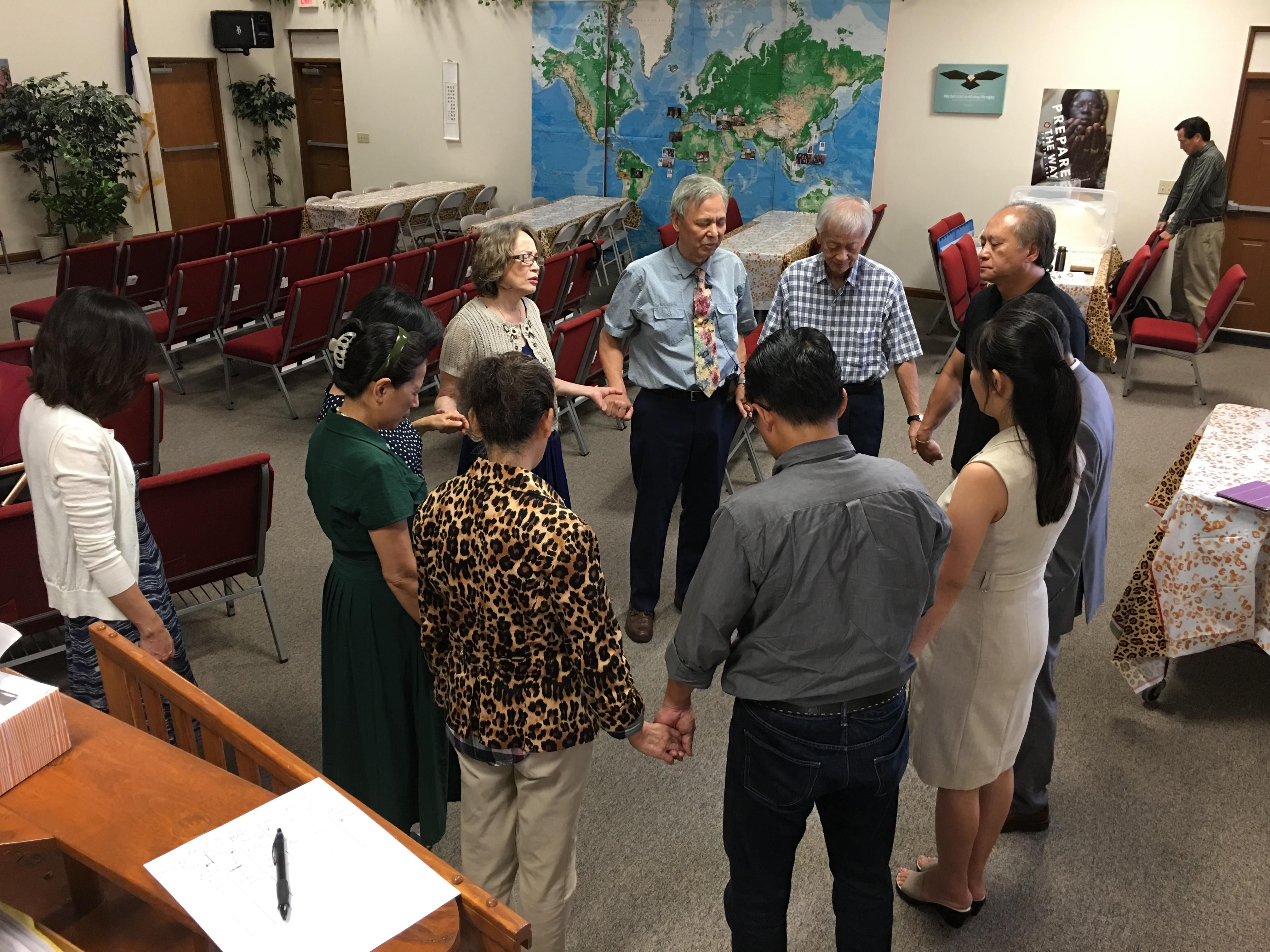 Pastor Yang visits 4-30-17